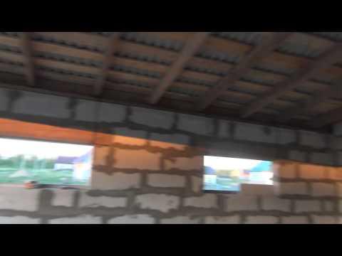 видео: Гараж, накрыл крышу, несколько дней в ролике.
