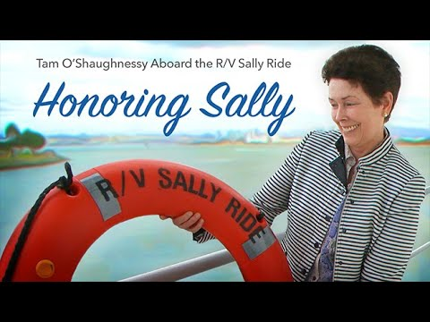 Honoring Sally: Tam O'Shaughnessy Aboard the R/V Sally Ride