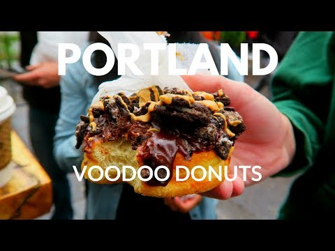 Travel to Portland Vlog: Voodoo Donuts and More Beer!