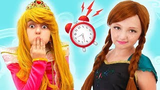 Aurora princess can't wake up!