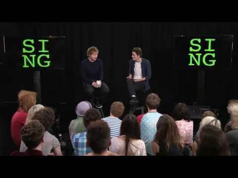 Ed Sheeran: Sing Launch & Interview with JacksGap