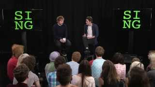 Repeat youtube video Ed Sheeran: Sing Launch & Interview with JacksGap