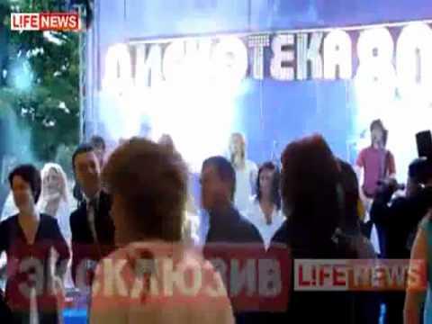 Медведев танцует (Полная версия).mp4 - YouTube