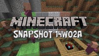 Minecraft Snapshot 14w02a - Slime Blocks, Nye Sten Blocks M.M.