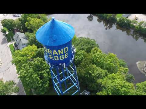 4K footage of Grand Ledge, Michigan (Mostly Raw Footage)