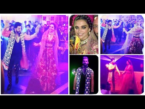 Inside Videos of Ranveer Singh & Deepika Padukone's First WEDDING Reception/Party In Mumbai