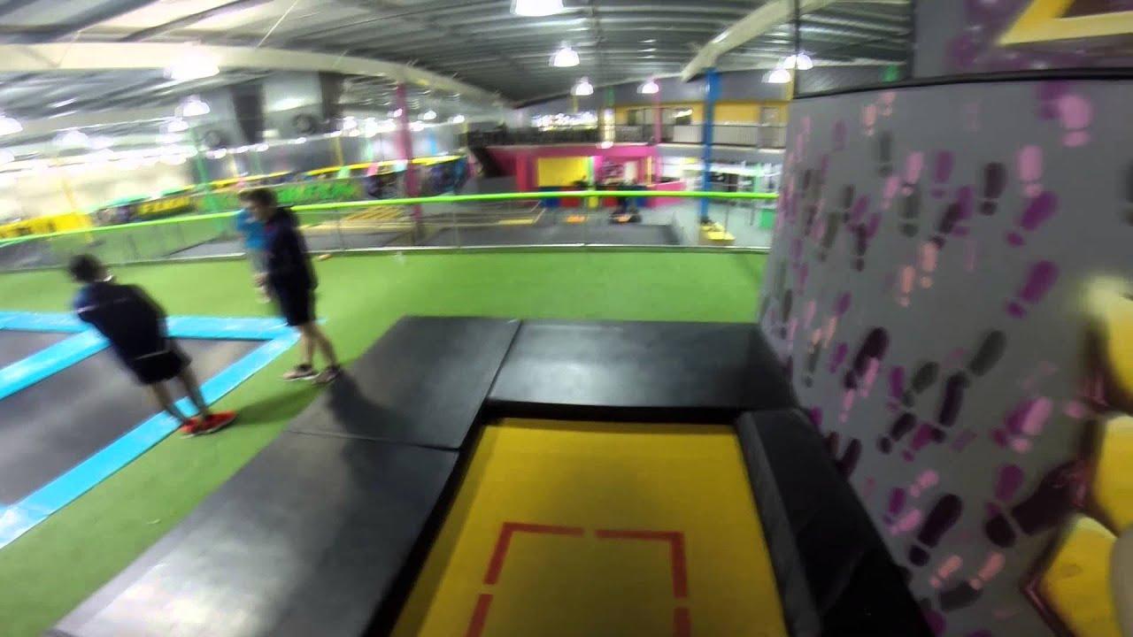 Front Flip On Trampoline