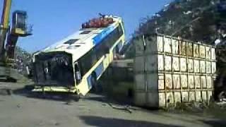 Demolition bus STIB