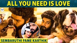 Sembaruthi Adhi's viral post with his Dog - Karthik Raj   Zee Tamil   LittleTalks