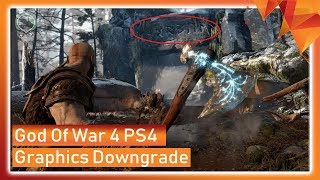 God of War 4 Graphics Downgrade, Should You Be Worried?