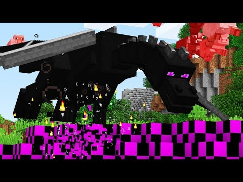 How to GLITCH the Minecraft Ender Dragon!