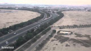 Qatar Airways landing at Kuwait International Airport