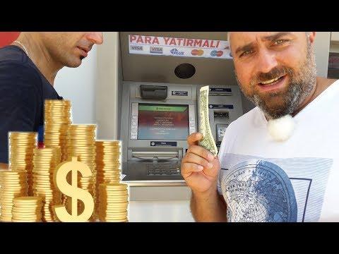 Обмен валют в Турции // Меняю баксы в Анталии // Currency Exchange In Turkey