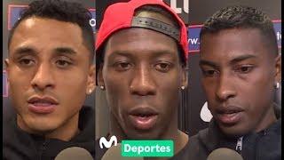 Selección Peruana: Yoshimar Yotún, Luis Advíncula y Miguel Araujo previo a Brasil 2019.
