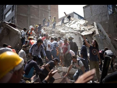 Download Youtube: 7.1 Earthquake Hits Mexico - LIVE COVERAGE