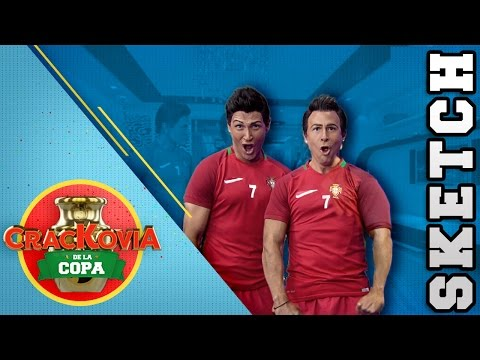 Crackovia De La Copa | Sketch | El Ego de Cristiano Ronaldo