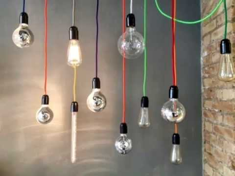 Cable Electrico Forrado En Tela De Colores
