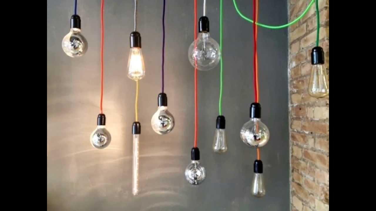 Cable electrico forrado en tela de colores youtube - Cables de electricidad ...