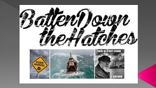 LONGWave - 09 07 17 - SEPTEMBER - Batten Down the Hatches, Reef the Sails!