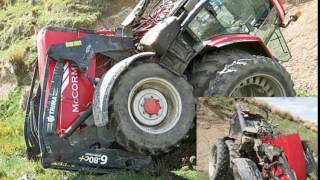 accident de tracteur agricole