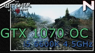 GTX 1070 OC: The Witcher 3 | 1080p Ultra Maxed Out HW ON/OFF