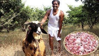 Full Goat Curry Recipe | Traditional Mutton Curry for Kids | Lamb Recipe By Real Man | Country foods