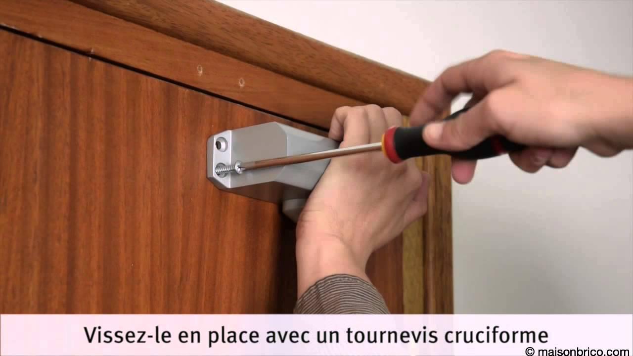 Installation Dun Fermeporte Hydraulique YouTube - Groom porte lourde