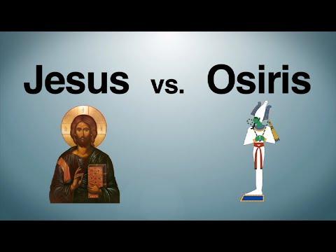 Was Jesus based on the Egyptian god Osiris?