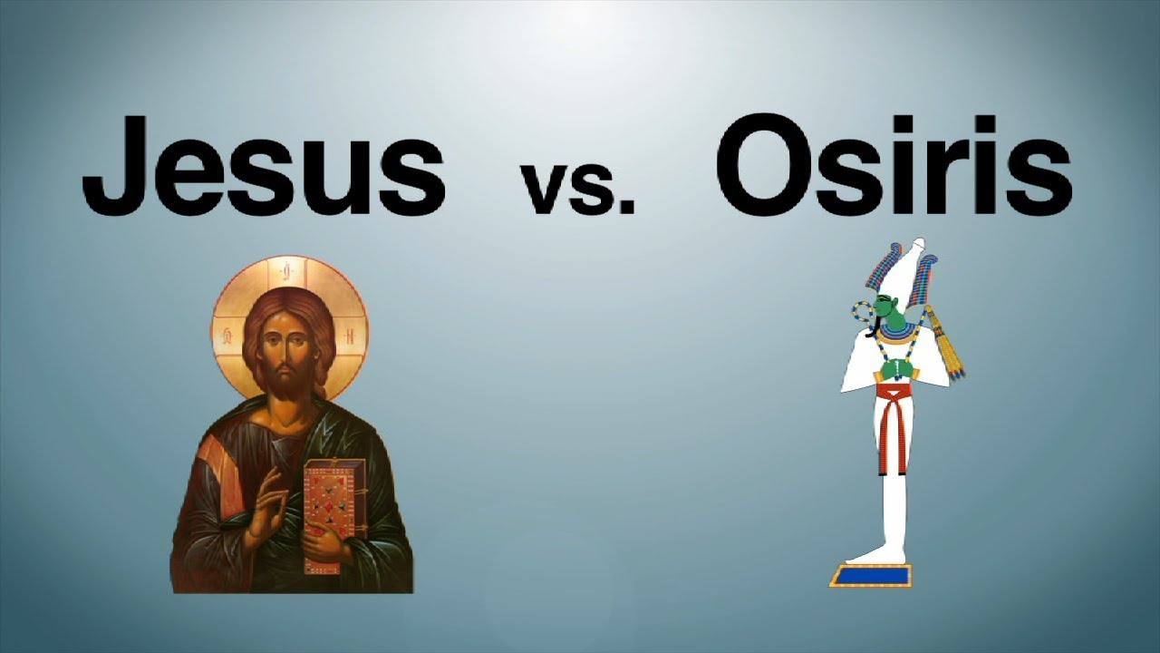 jesus vs osiris youtube