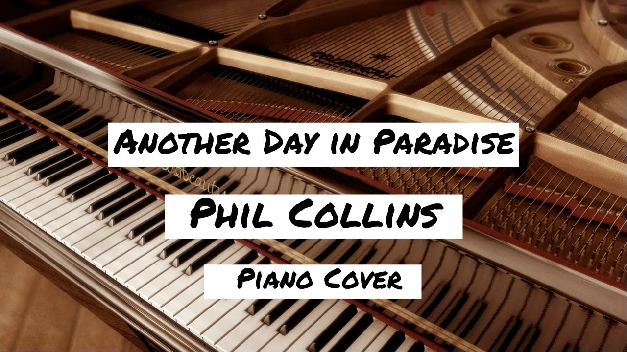 phil collins another day in paradise piano cover youtube. Black Bedroom Furniture Sets. Home Design Ideas