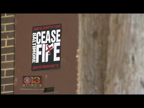 Baltimore Residents Propose 3-Day Cease-Fire