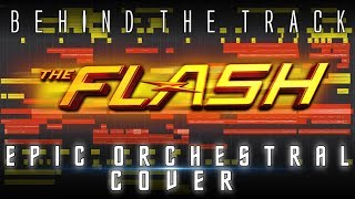 Gambar cover BEHIND THE TRACK | THE FLASH EPIC ORCHESTRAL COVER