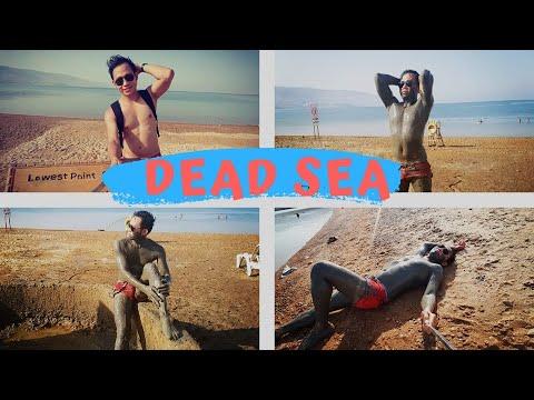 Dead Sea in Jordan| Mud Bath| Dead Sea Floating| Full Dead Sea Experience| Jordan Travel Vlog