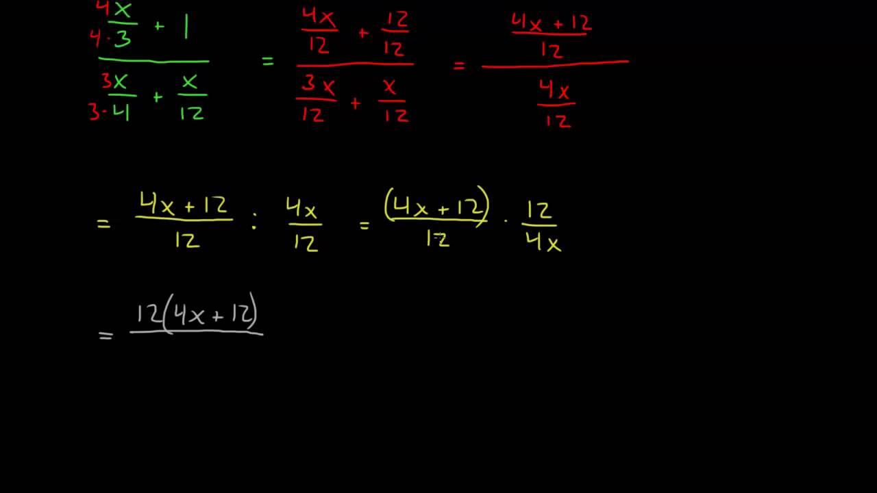 2.4 - Faktorisering av brøk 1 (1T)