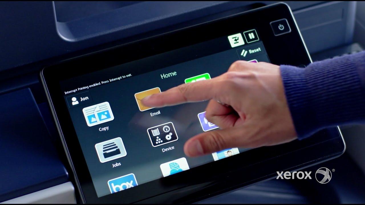 Xerox U00ae Connectkey U00ae Technology  U2013 The User Interface Advantage