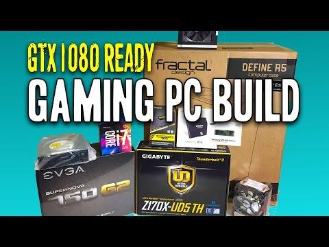 Gaming VR PC Build i7 6700 GTX 1080 Ready + M.2 SSD ★