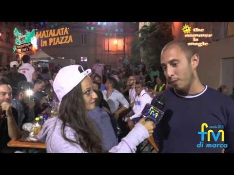 Maialata in Piazza - Montefiore 2015 x FM Tv