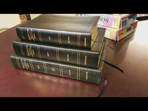 Kirkbride KJV HANDY SIZE Thompson Chain Reference Bible Comparison and Review