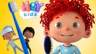 WAKE UP song for kids! It's time to Brush Your Teeth & Wash Your Face ⏰ HeyKids