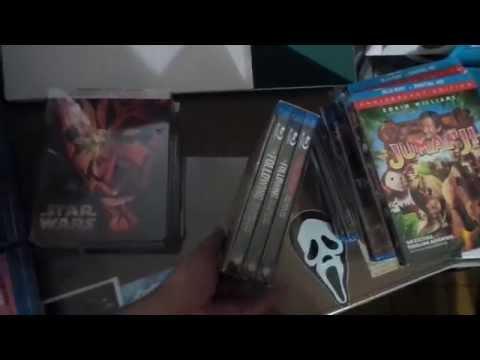 Blu-ray haul noviembre star wars steelbooks y otros