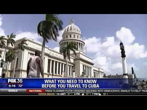 Cuba Ventures' CEO Steve Marshall on Fox 35 Orlando