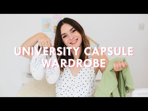 UNIVERSITY CAPSULE WARDROBE   What Olivia Did