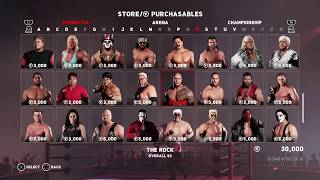 WWE 2K18 (PS4)   First Time Gameplay + Purchasables Unlocked (WCW/nWo Wrestlers + Arenas & Titles!)
