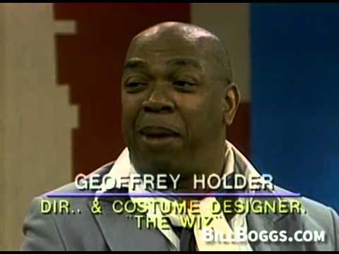 Geoffrey Holder Tony Awards for direction and costume design of The Wiz