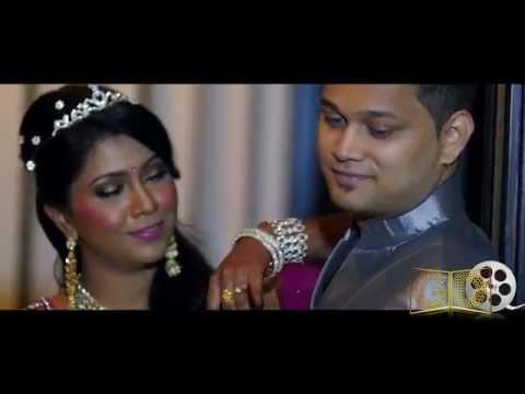 Malaysian Indian Wedding Highlights of  Jay THR Raaga & Koky Vaani  By Golden Dreams Gdu