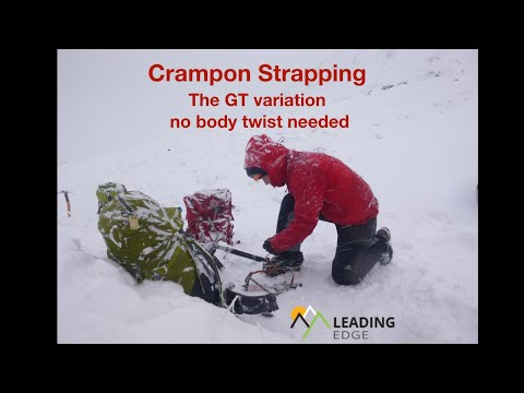 Crampon Strapping, a variation.