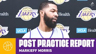 Markieff Morris talks about joining the Lakers | Shootaround Report