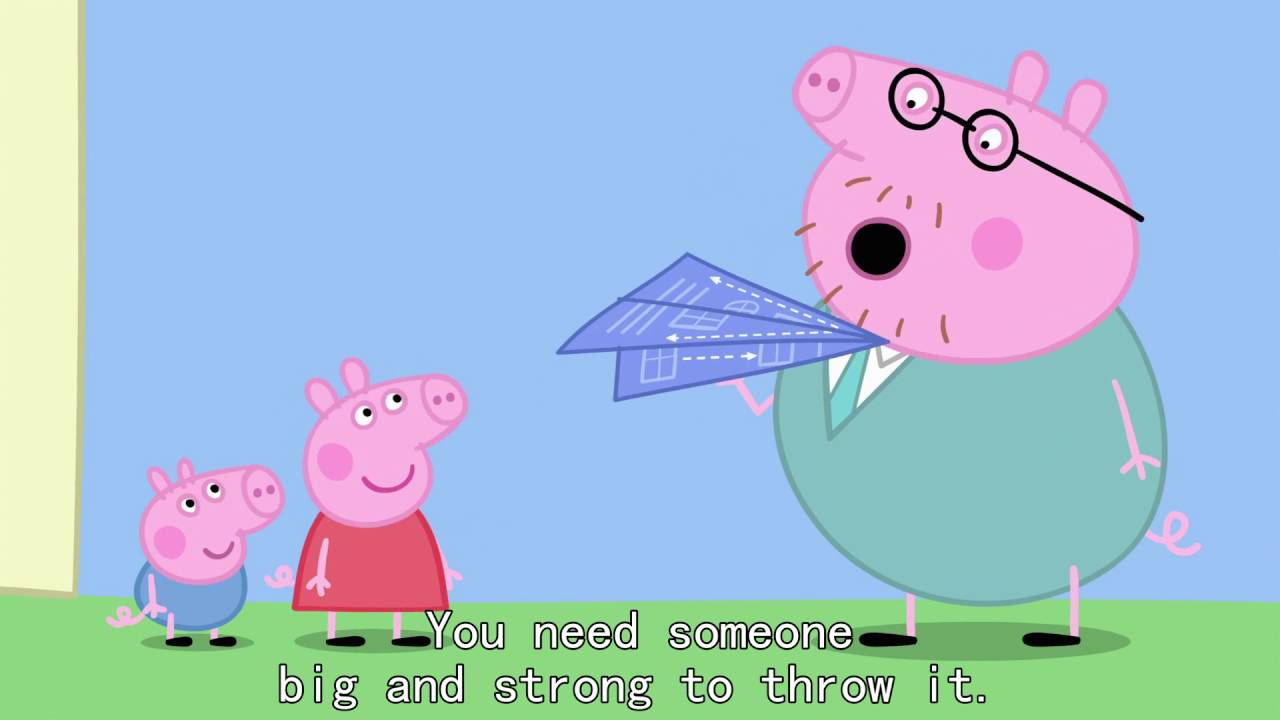 Peppa Pig - Paper Aeroplanes (48 episode / 3 season) [HD]