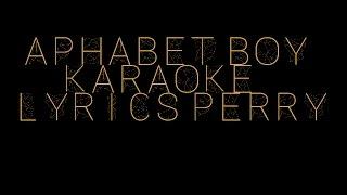 Alphabet Boy - Melanie Martinez (Karaoke)