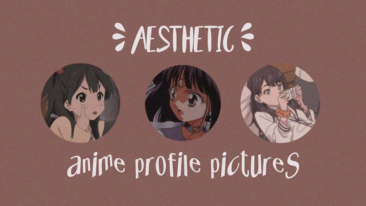 ☽ 10 aesthetic anime profile pictures ☾